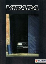 Suzuki Vitara 1989-90 Export Markets Foldout Sales Brochure In English JX JLX