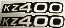 KAWASAKI KZ400 Z400 PANNEAU LATÉRAL DECALS
