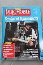 L'automobile Magazine - Hors Série Décembre 1992 - Confort et Equipements