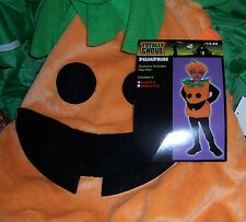 TOTALLY GHOUL CHILDRENS PUMPKIN HALLOWEEN COSTUME SIZE SMALL 2-4  NEW!