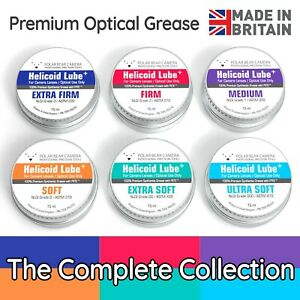 Helicoid Grease -6x15ml Complete Bundle- for Camera Lens Focus Ring Optical Lube