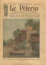 Anglo-Turkish Conflict of Mossoul Mosul Irak Iraq Tigris River 1925 ILLUSTRATION