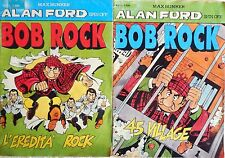 LOTTO ALAN FORD SPIN OFF BOB ROCK N.1-2 MAX BUNKER