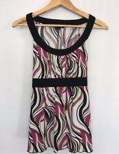My Michelle Women's Sleeveless Tank Top Shirt Blouse Size Medium M Pink