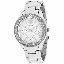 Fossil Women's Silver Case Wristwatches