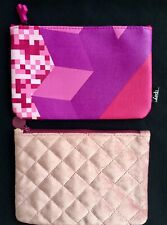 Pair Of Small Make-up Bags. Tetris. New! Set Of 2. Free Shipping!