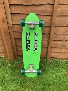Z FLEX JIMMY PLUMBER YELLOW CRUISER SKATEBOARD  EXCELLENT USED CONDITION