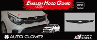 Smoked Bonnet Hood Guard Garnish Deflector 1P EMS D991 for KIA Picanto 2017~2019