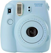 Fujifilm Instax Mini 8 Instant Film Print Polaroid Camera - Blue Color