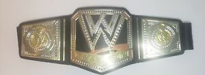 "2012 Mattel WWE World Heavyweight Champion Kid's Toy Title Belt 38"" Long Cosplay"