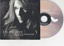 CD CARTONNE CARDSLEEVE CELINE DION S'IL N'EN RESTAIT QU'UNE ...3T DE 2006