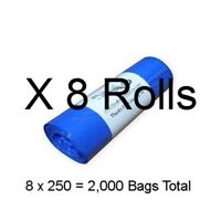 Large Poop Bags 2000 Printed Earth Rated  Biodegradable Doggie Pet Waste Bags