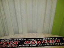 """Nürnberg,Dortmund,1860,Schalke Anti München Schal """"ARSCHLÖCHER GIBT ES ÜBERALL """""""