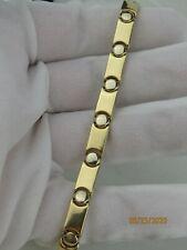 14K Gold LINK BRACELET Marked YT in Excellent Condition