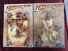 Indiana Jones YA Novels Raiders Of The Lost Ark & The Last Crusade