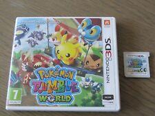 JEU NINTENDO 3DS POKEMON RUMBLE WORLD