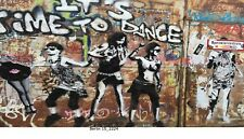 Berlin, Berliner Mauer, Graffiti, Bild auf Leinwand /2224/