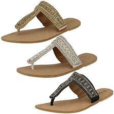 Unbranded Flip Flops Textile Shoes for Women