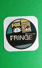 "FRINGE FOX SAN DIEGO COMIC-CON INTERNATIO TV SMALL 1.5"" GETGLUE GET GLUE STICKER"