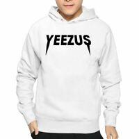 Yeezus Adults Hoodie Kanye West Inspired Hooded Jumper