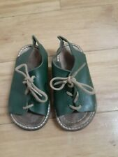 tiny cottons green sandals size 21