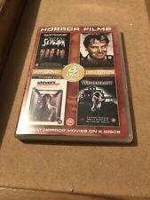 4 Horror Movies On 2 Discs