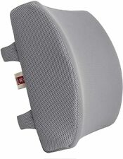 LoveHome Memory Foam Lumbar Support Back Cushion With 3D Mesh Cover Balanced 3S1