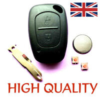 2 Button Remote Key Fob Case Repair For Renault Trafic Vivaro Master Kangoo