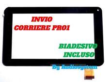 VETRO+TOUCH SCREEN PER MIIA MT-700FN TABLET NERO +COLLA BIADESIVO DISPLAY