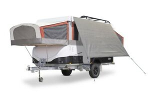 COAST TRAVELITE Campervan Offside Privacy Sunscreen W3380mm x H2050mm