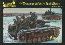 Caesar miniatures H079 - WWII German infantry tank riders (winter set 2) - 1:72