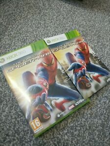 The Amazing Spider-Man Xbox 360 Box And Manual NO GAME!