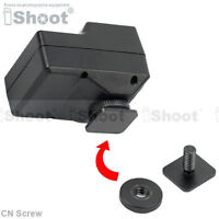 """Cold Foot to 1/4"""" Screw Adapter f Camera Flash Holder Light Stand Hot Shoe Mount"""