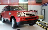 Range Rover Sport TDV6 V6 LR3 Met Red Detailed Diecast Model 1:18 Maisto Land