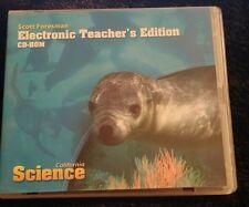 Scott Foresman Science ELECTRONIC TEACHERS EDITION CD ROM 2ND GRADE 2 Homeschool