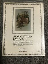 Cross Stitch - Bjorklunden Chapel (Mill Road Gallery)