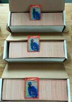 Lot of 3 Donruss 1990 Baseball Complete Sets 1-716 Gonzalez RC Griffey 2nd Year