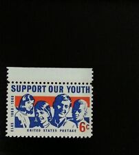 1968 6c Support Our Youth, Elks, 100th Anniversary Scott 1342 Mint F/VF NH