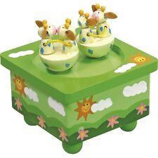 Boite à musique aimanté modèle girafe kiss- éveil bébé - Jeux et Jouet en bois**