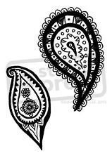 A7 'Paisley' Unmounted Rubber Stamp (SP00000658)
