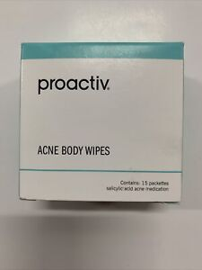 Proactiv Acne Body Wipes 15-Count Exp 07/21