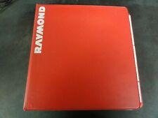 Raymond 5400 5500 5600 Orderpicker Parts Catalog Manual   1062278A