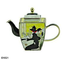 KELVIN CHEN Enamel Mini Copper Miniature Teapot- Japanese Sette Man LauTrec