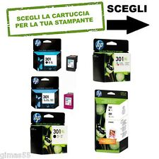 CARTUCCIA ORIGINALE HP 301 series