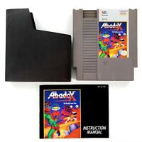 Abadox: The Deadly Inner War (Nintendo NES, 1990) Authentic w/ Manual Tested