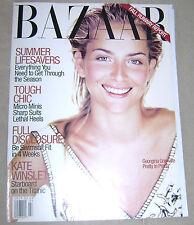 US HARPER'S BAZAAR/ July 1997/ Georgina Grenville/ Karen Elson Nip Peek/ Blahnik
