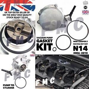 MINI COOPER S 1.6 JCW N14 2006 - 2010 Vacuum Pump Gasket Seal Set R55 R56 R57