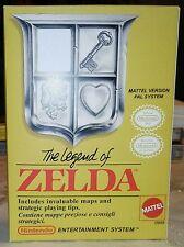 ZELDA I * ITA * NINTENDO Entertainment System NES * Riproduzione Box Scatola *