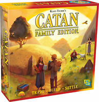 Catan: Catan Family Edition Board Game SEALED UNOPENED FREE SHIPPING