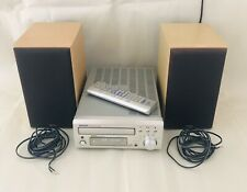 Denon UD-M30 Personal Component System FM Tuner CD Player, Speakers + Remote